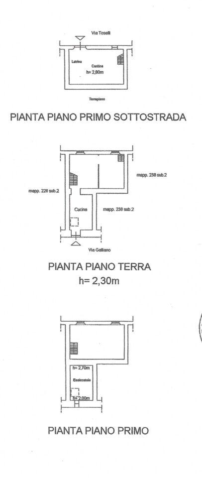 Planimetria VRI 2073 BA