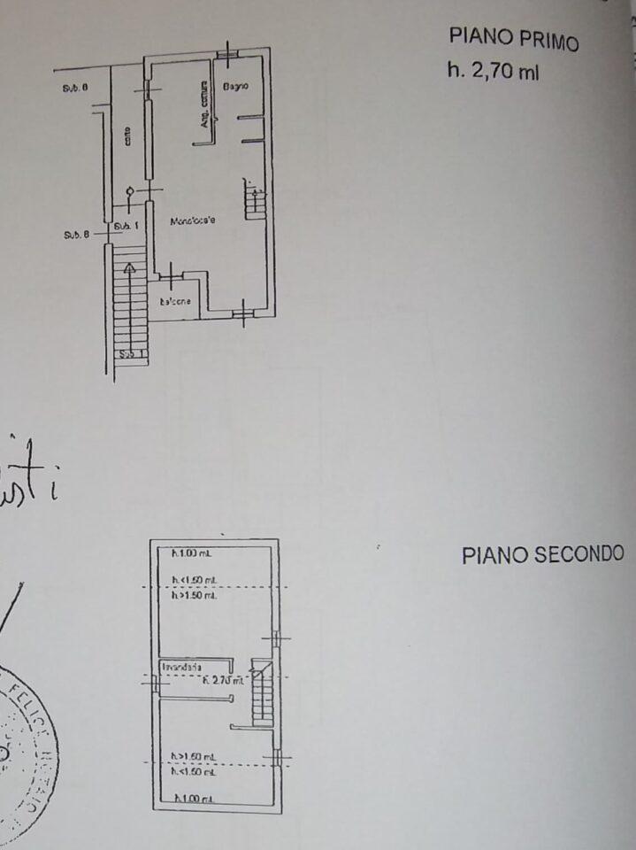VRI 2254 BA - planimetria