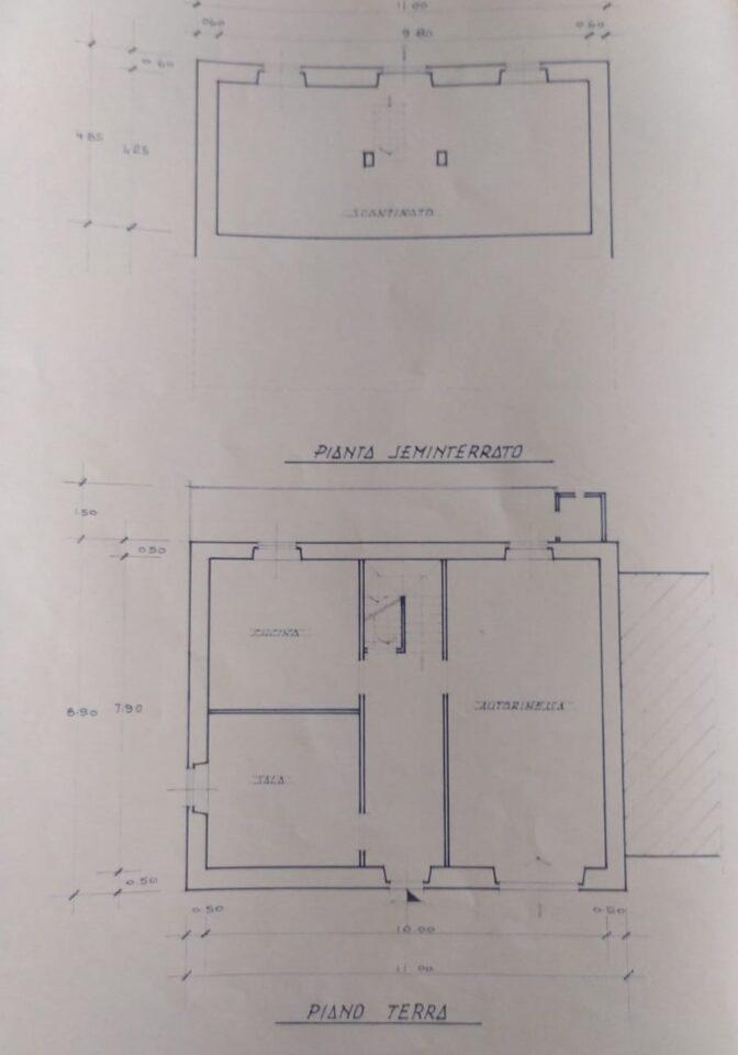 planimetria VRI 2180 BA 2